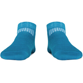 Röjk Everyday Short Merino Socks Unisex Berry Blue